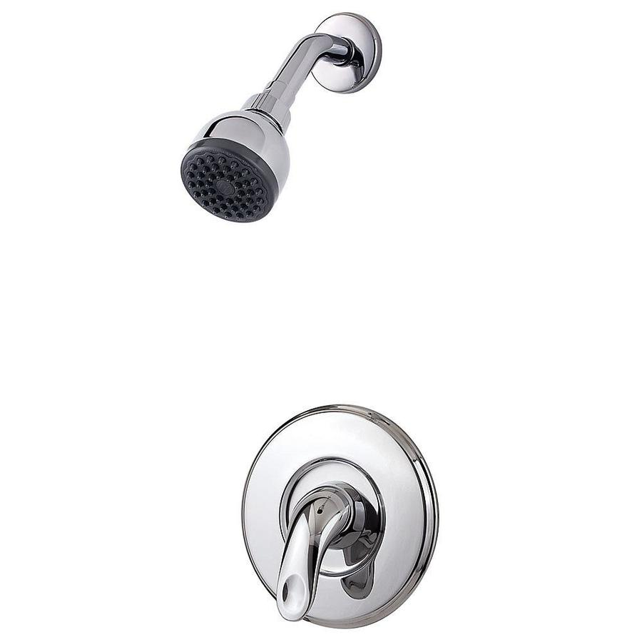 Pfister Serrano Polished Chrome 1-Handle Shower Faucet Trim Kit with Single Function Showerhead