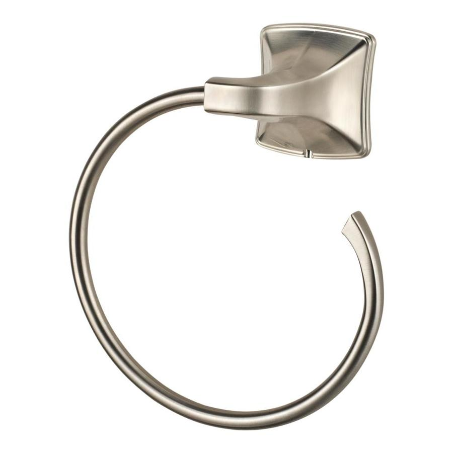 Pfister Selia Brushed Nickel Wall Mount Towel Ring