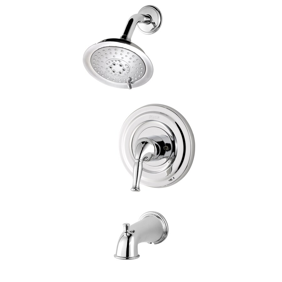 Genial Pfister Universal Trim Polished Chrome 1 Handle Bathtub And Shower Faucet  Trim Kit With Multi