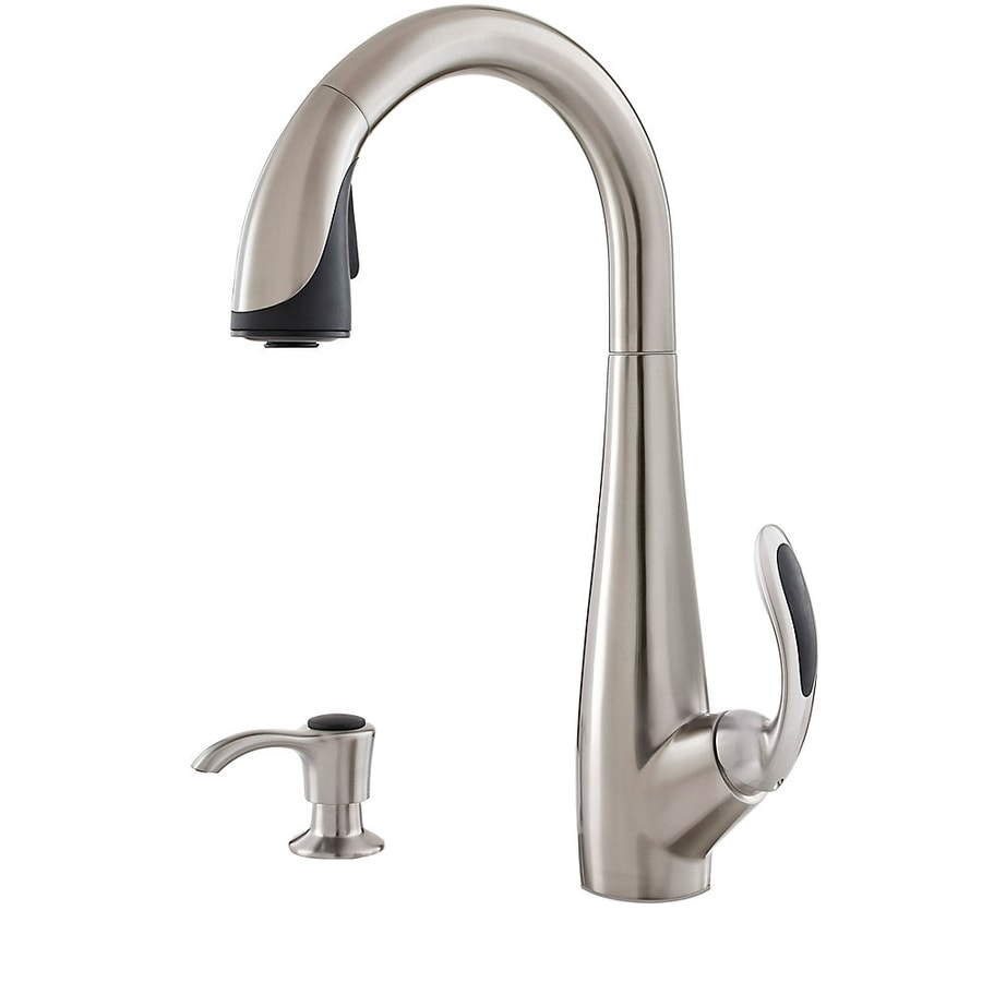 Pfister Nia Stainless Steel 1-Handle Pull-Down Kitchen Faucet