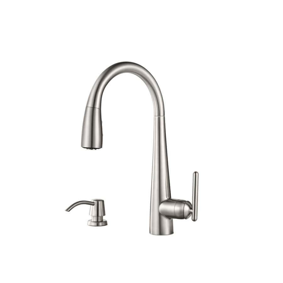 Pfister Lita Stainless Steel 1-Handle Pull-Down Kitchen Faucet