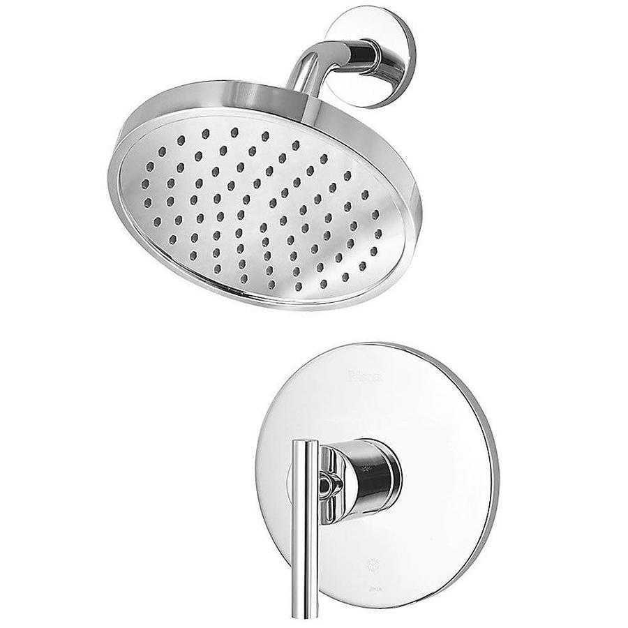 Pfister Contempra Polished Chrome 1-Handle Shower Faucet Trim Kit with Single Function Showerhead