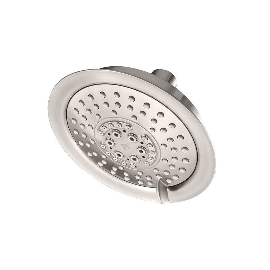 Shop Pfister Brushed Stainless Steel 5-Spray Shower Head at Lowes.com