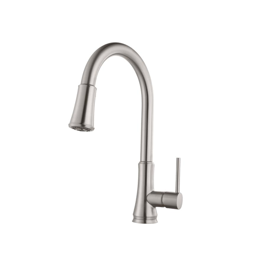 Pfister Pfirst Stainless Steel 1-Handle Pull-Down Kitchen Faucet
