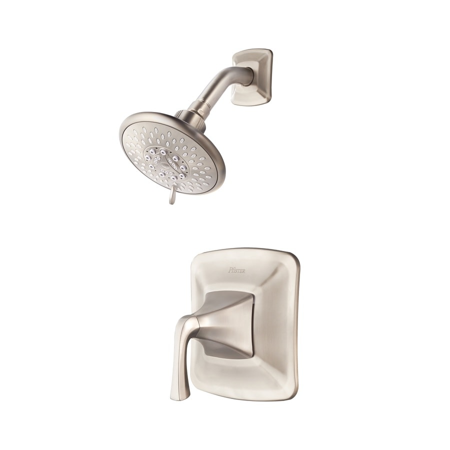 Pfister Selia Brushed nickel 1-handle Shower Faucet with Valve