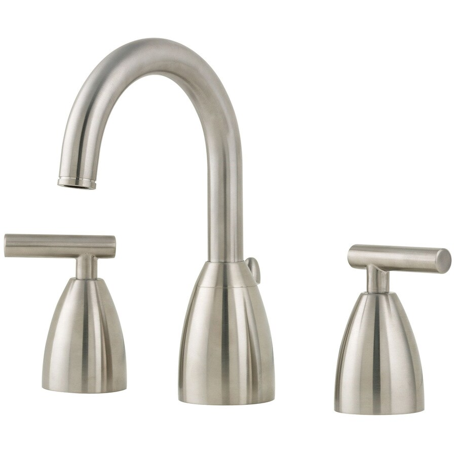 Shop Pfister Contempra Brushed Nickel 2-handle Widespread Bathroom ...