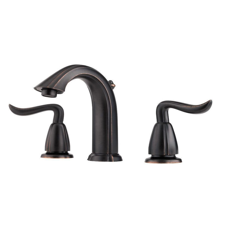 Tuscan Bathroom Faucets: Pfister Santiago Tuscan Bronze 2-handle Widespread