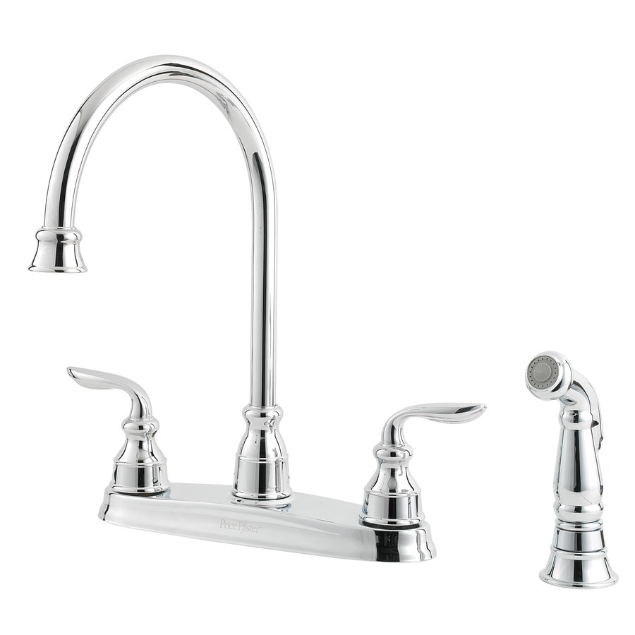 Pfister Avalon Polished Chrome 2-Handle High-Arc Kitchen Faucet