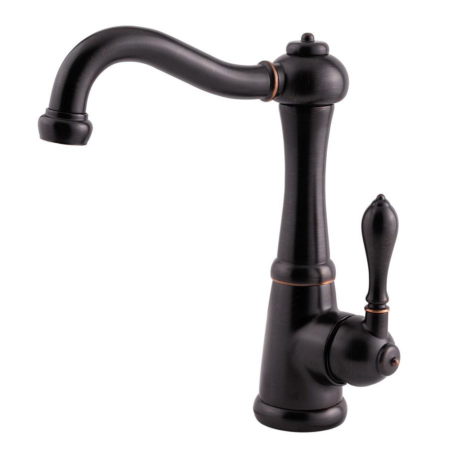 Pfister Marielle Tuscan Bronze 1-Handle Bar and Prep Faucet