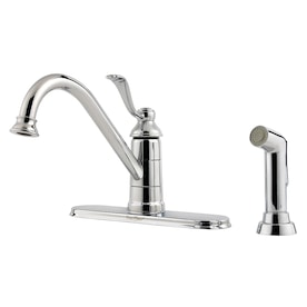 Pfister LG34-1PS0 Portland Kitchen Faucet Stainless Steel Water Efficient 2 A1