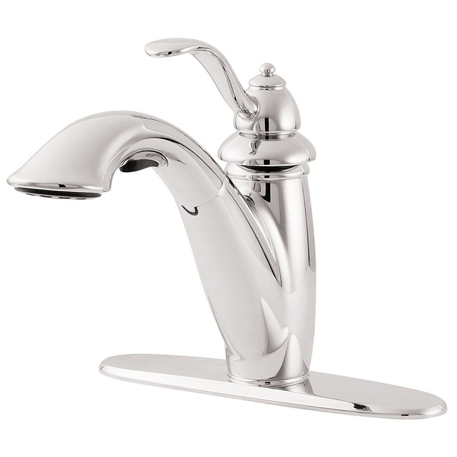 Pfister Marielle Polished Chrome 1-Handle Pull-Out Kitchen Faucet