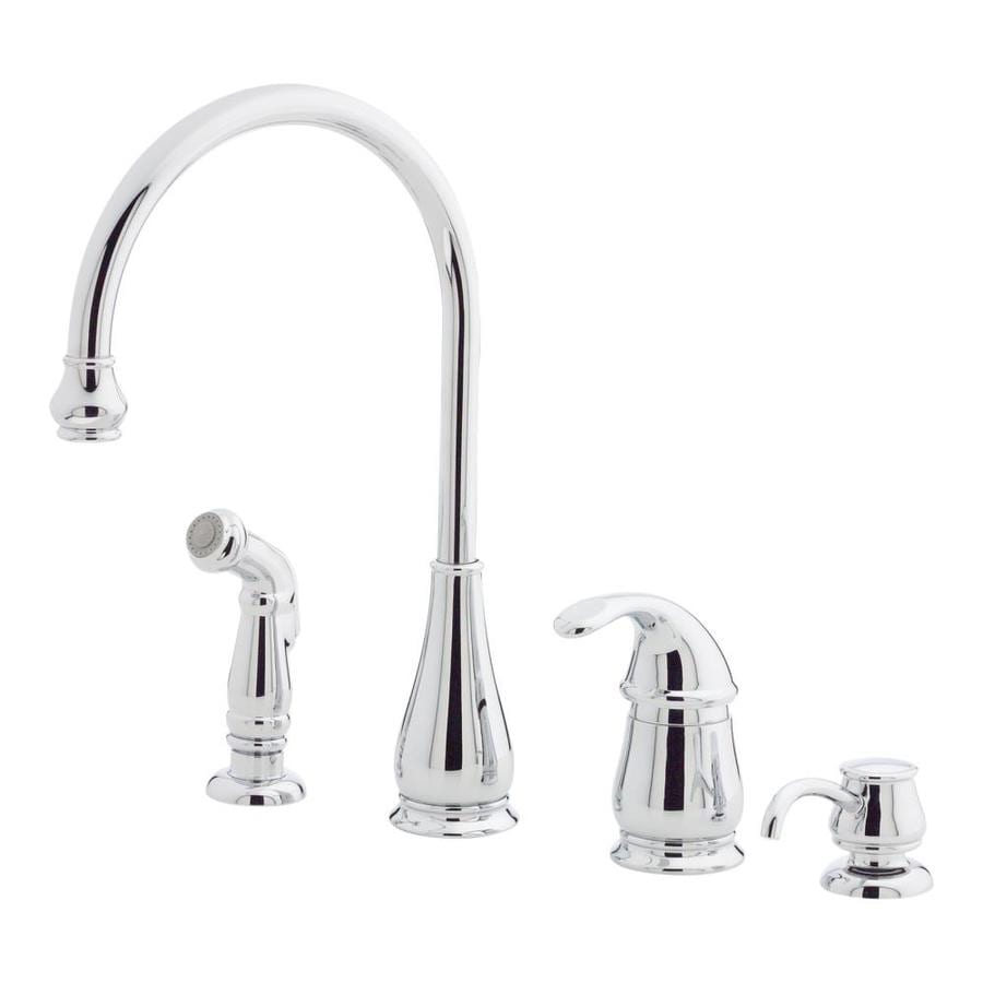 Pfister Treviso Polished Chrome 1-Handle High-Arc Kitchen Faucet