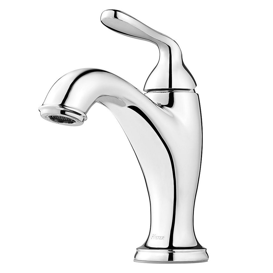Pfister Northcott Polished Chrome 1-Handle Single Hole Bathroom Sink Faucet