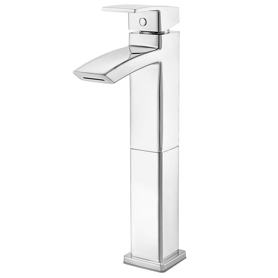 Pfister Kenzo Polished Chrome 1-Handle Single Hole Bathroom Sink Faucet