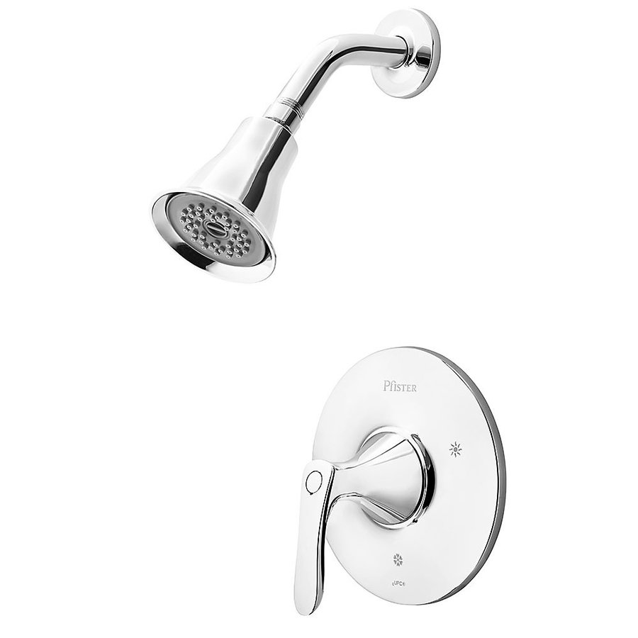 Pfister Weller Polished Chrome 1 Handle Shower Faucet