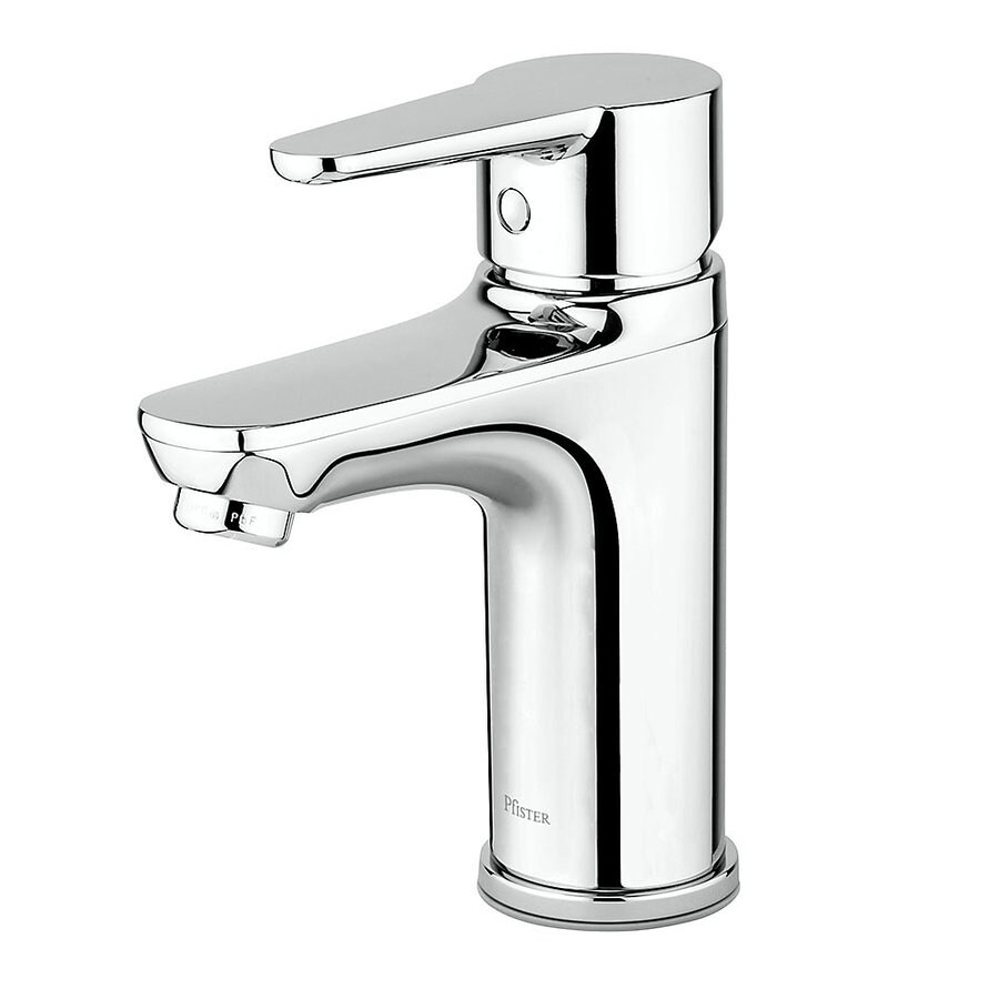 Shop Pfister Pfirst Modern Polished Chrome 1 Handle Single