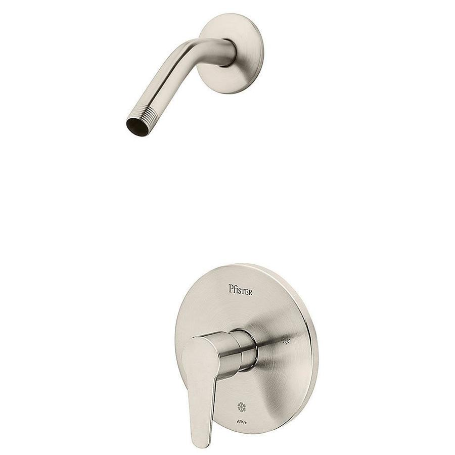 Pfister Pfirst Modern Brushed Nickel 1-Handle Shower Faucet