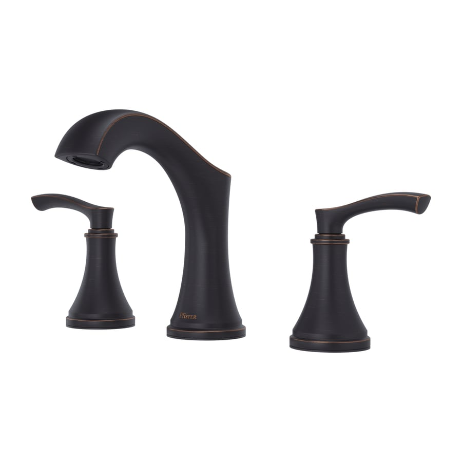 Shop Pfister Auden Tuscan Bronze 2-handle Widespread Bathroom Faucet ...