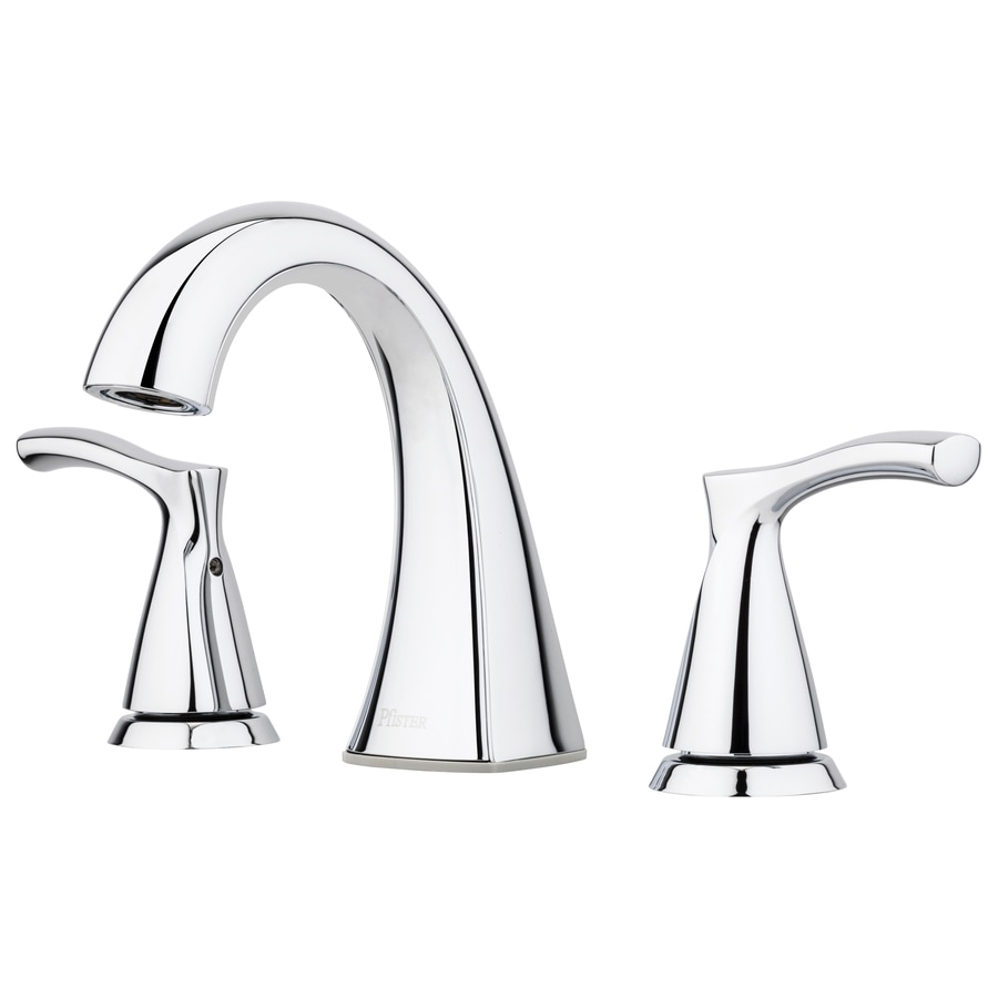 Shop Pfister Masey Polished Chrome 2-handle Widespread Bathroom ...