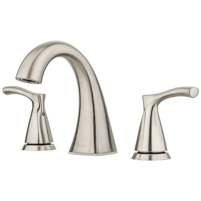 Pfister Masey Brushed Nickel 2 Handle Widespread Watersense