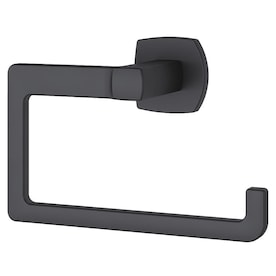 Maxted Towel Ring 7.87 x 2.15 x 6.04 inches Matte Black