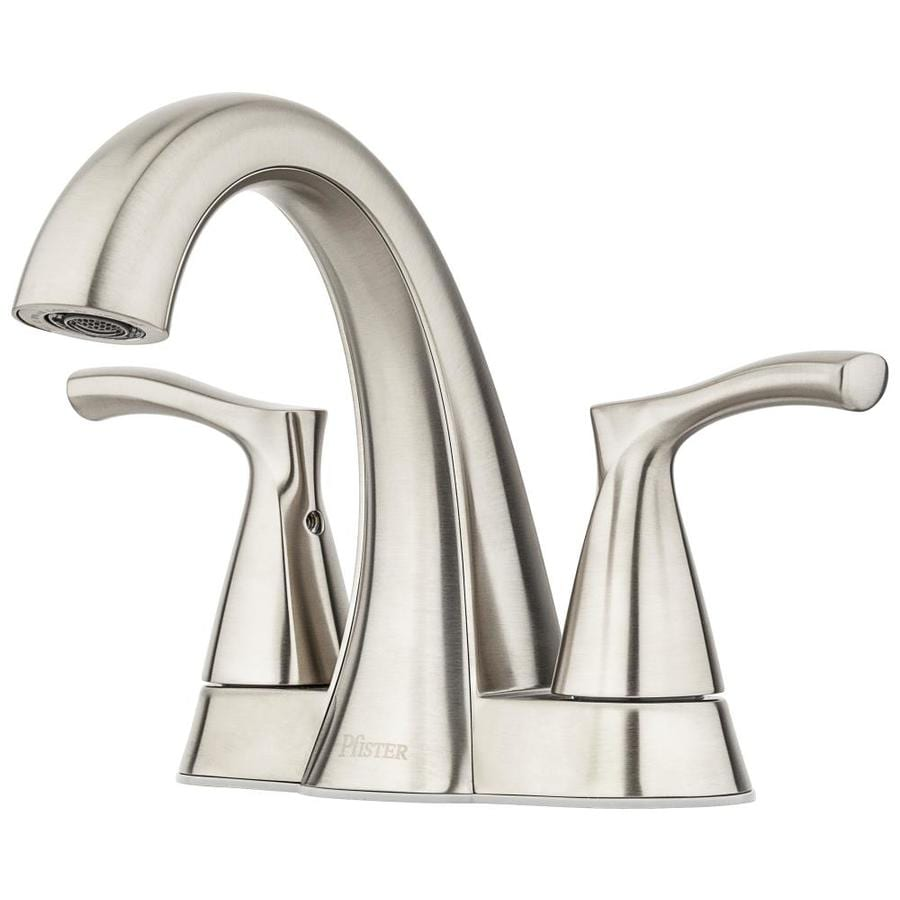 Pfister Masey Brushed Nickel 2 Handle 4 In Centerset