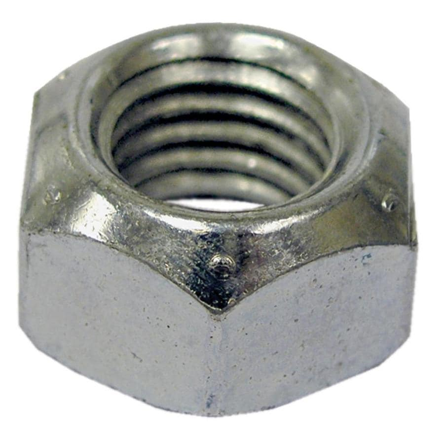 The Hillman Group 2-Count 8mm Zinc-Plated Metric All-Metal Lock Nuts