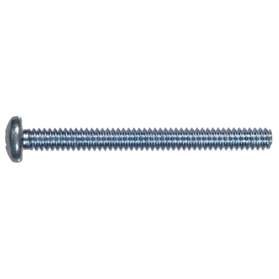 Hillman 3-Count 8mm to 1.25 x 25mm Pan-Head Zinc-Plated Metric Machine Screws