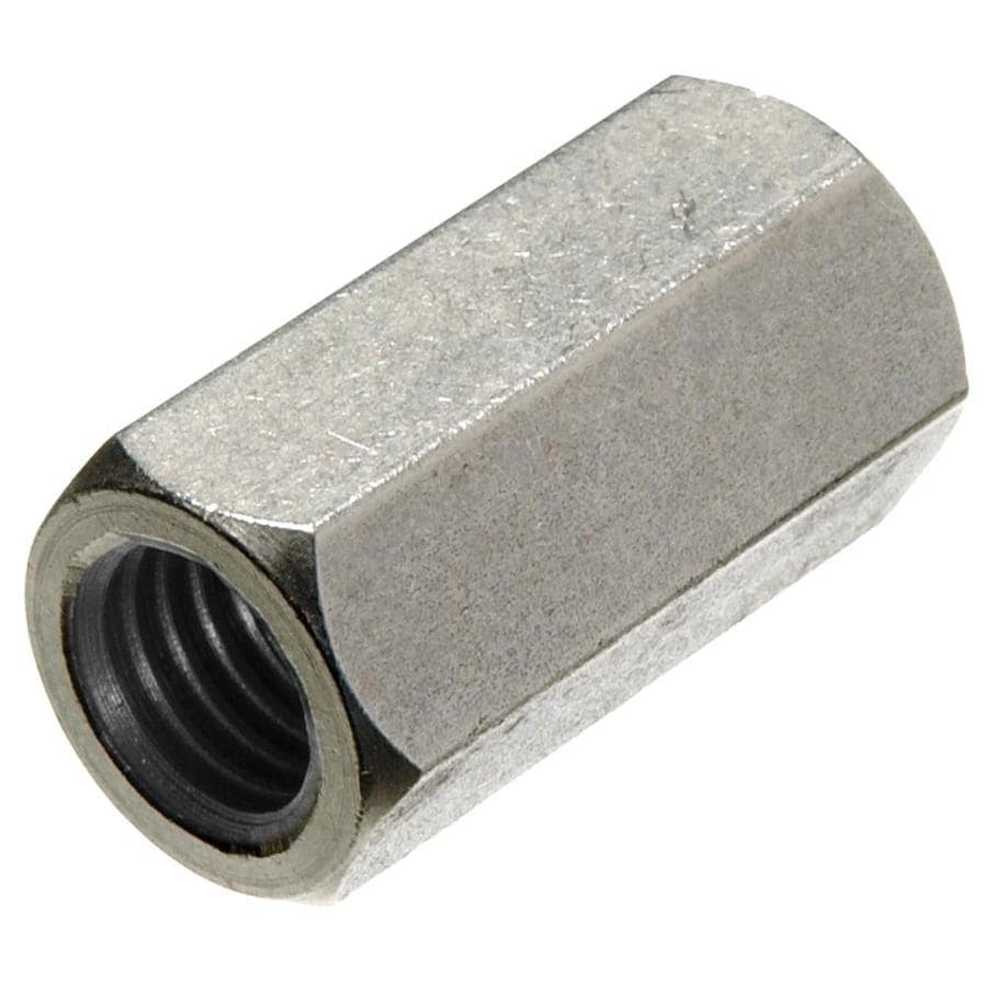 Hillman 1 Count 10-in Stainless Steel Standard (SAE) Regular Nut