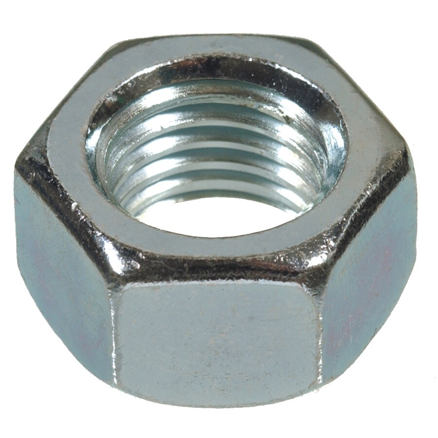Blue Hawk 50-Count 3/8-in Zinc-Plated Standard (SAE) Hex Nuts