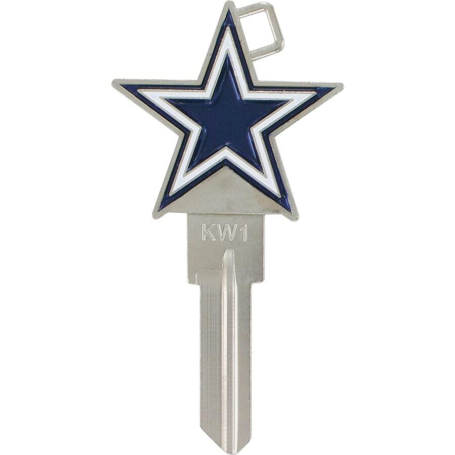 Hillman Dallas Cowboys Brass House/Entry Key Blank