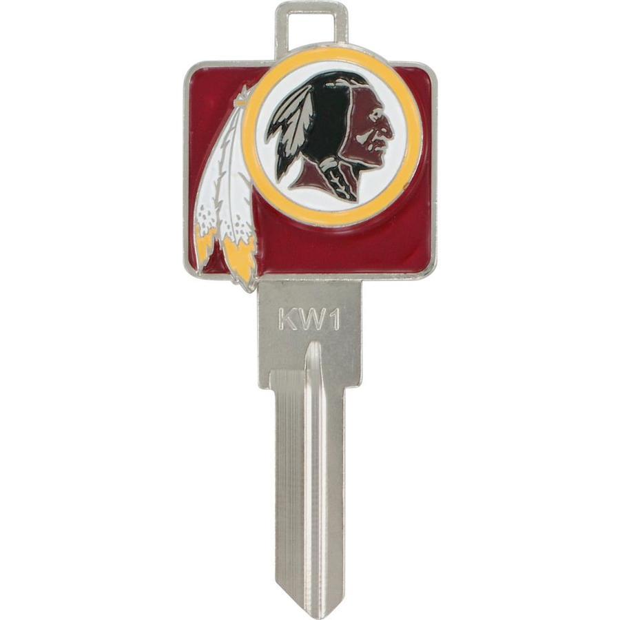 Hillman Washington Redskins Brass House/Entry Key Blank