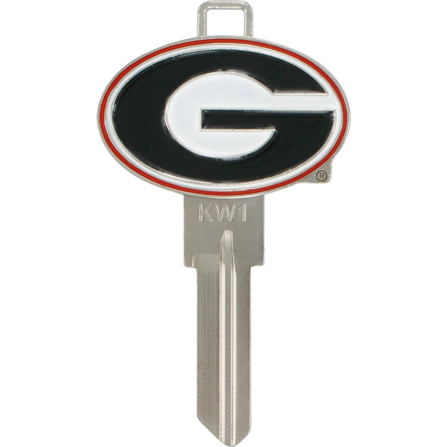 Hillman Georgia Bulldogs Brass House/Entry Key Blank
