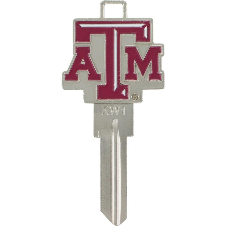 Hillman Texas A&M Aggies Brass House/Entry Key Blank