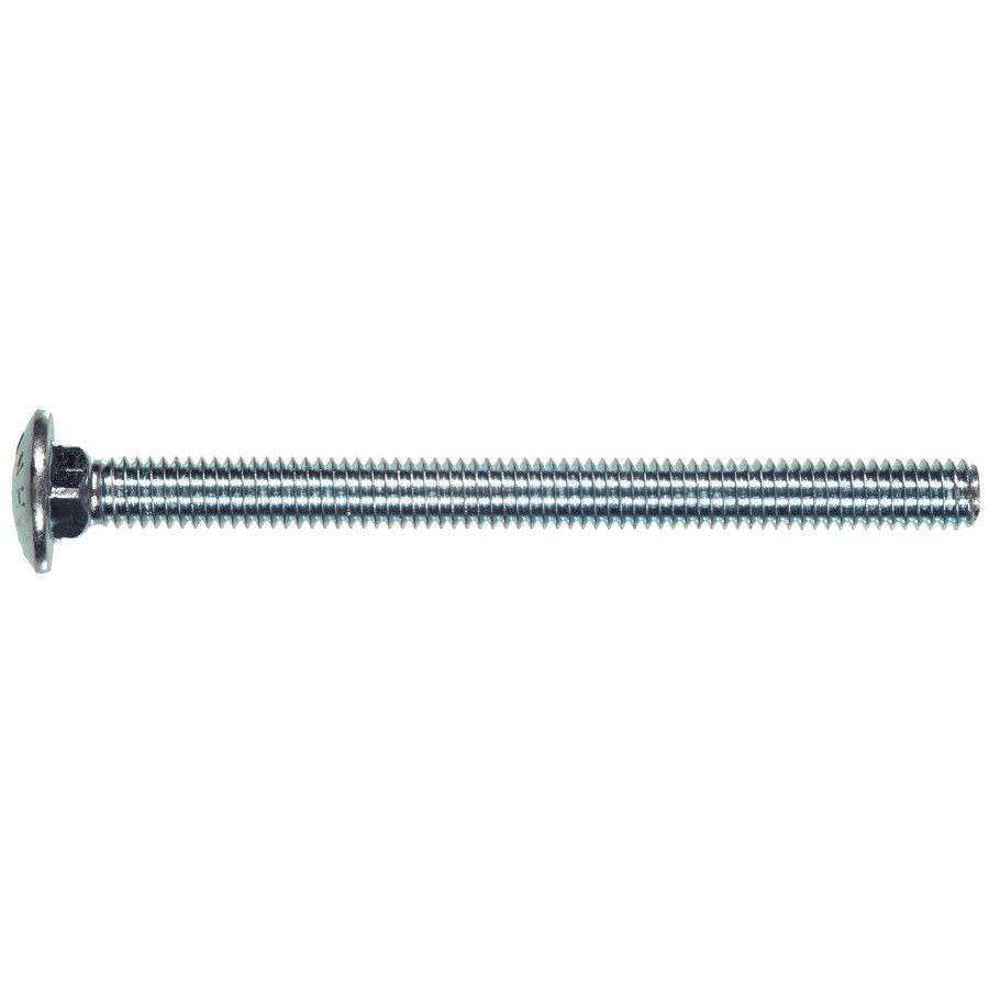 The Hillman Group 2-Count 1/4-in x 2-in Zinc-Plated Carriage Bolts