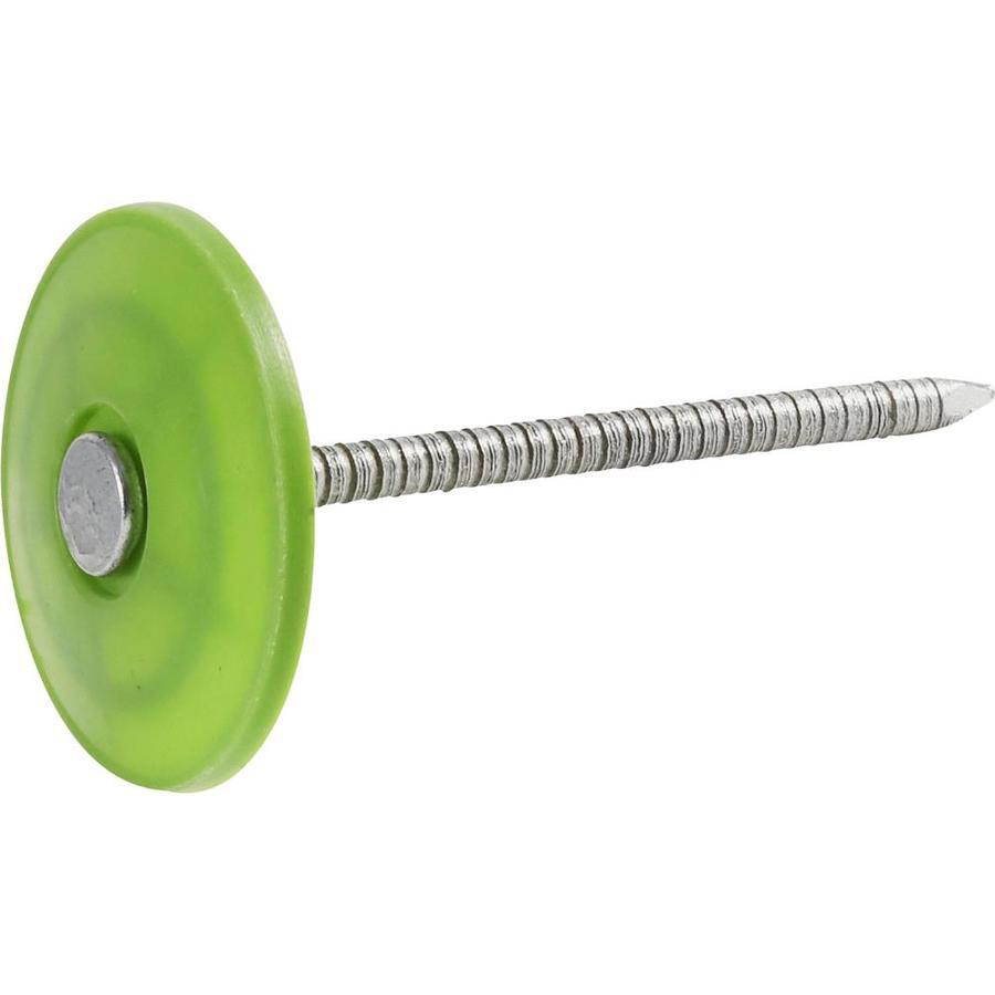 Fas-n-Rite 25-lb 1.75-in Round Plastic Cap Nails