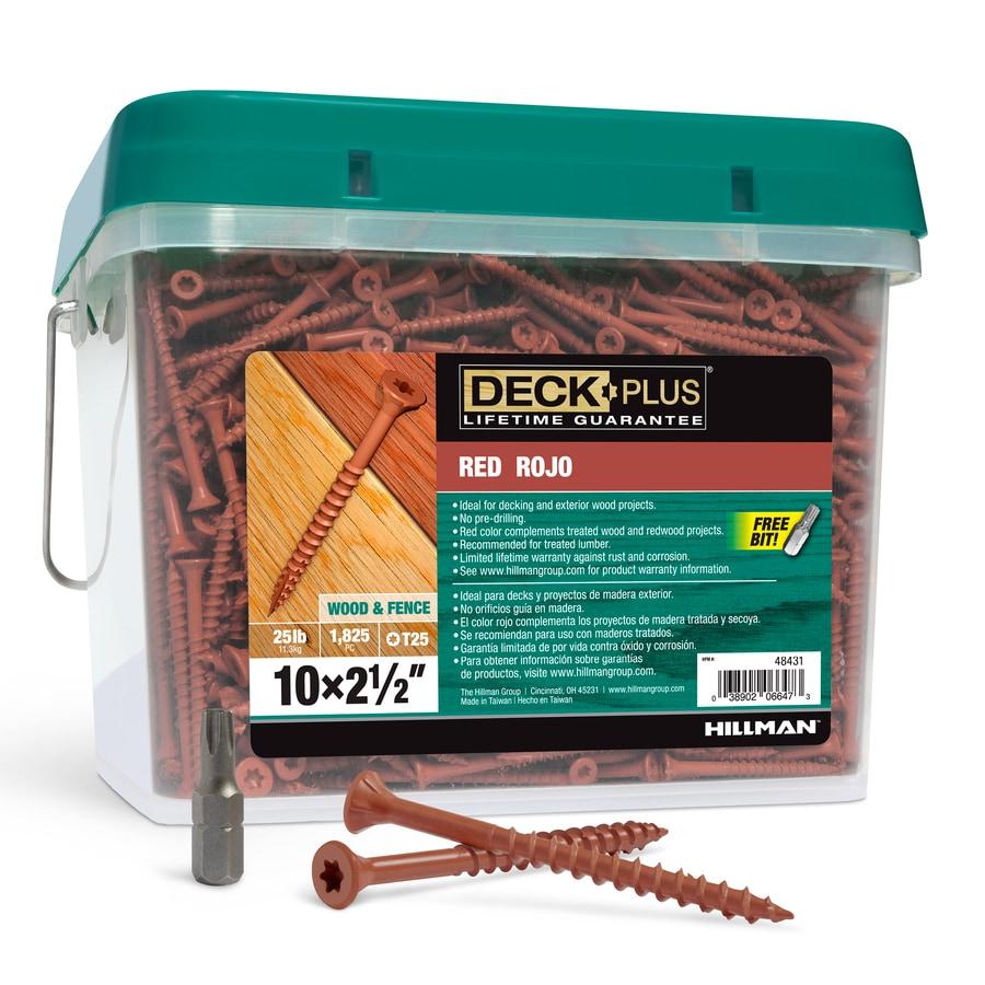 Deck Plus 25-lb 2.5-in Countersinking-Head Ceramic Star-Drive Deck Screw