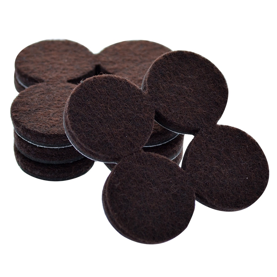 The Hillman Group 1-in Round Felt Pad
