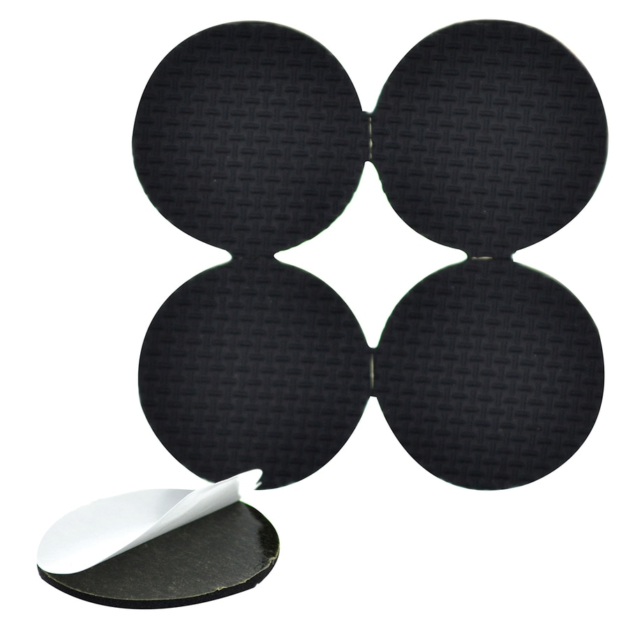 Hillman 1-in Black Rubber Pads