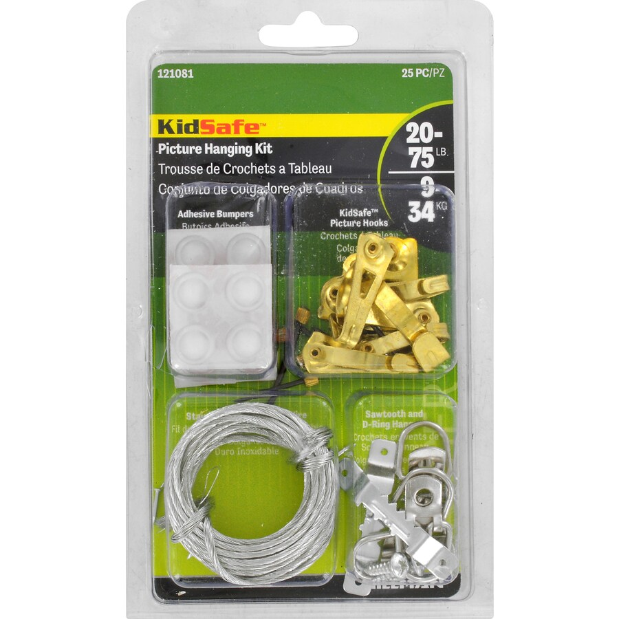 The Hillman Group Kidsafe Picture Hanging Kit