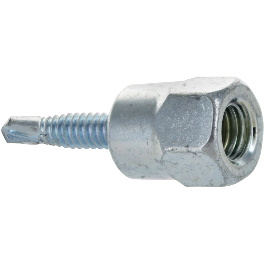 Hillman 4-Count 1/4-in x 1.5-in Hex-Head Zinc-Plated Self-Drilling Hex-Drive Interior Wood Screws