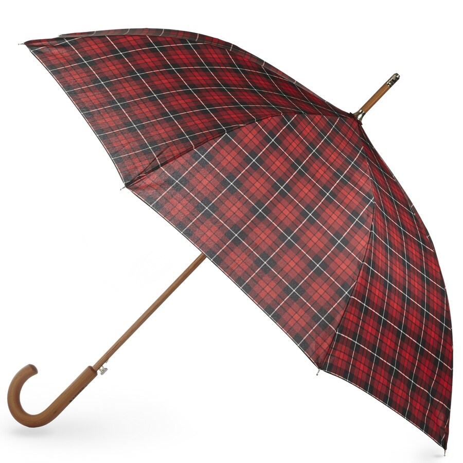 totes 36.5-in Plad Automatic Golf Umbrella