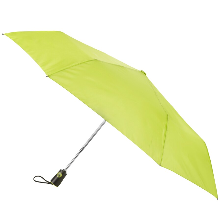 totes 11-in Yellow Automatic Compact Umbrella
