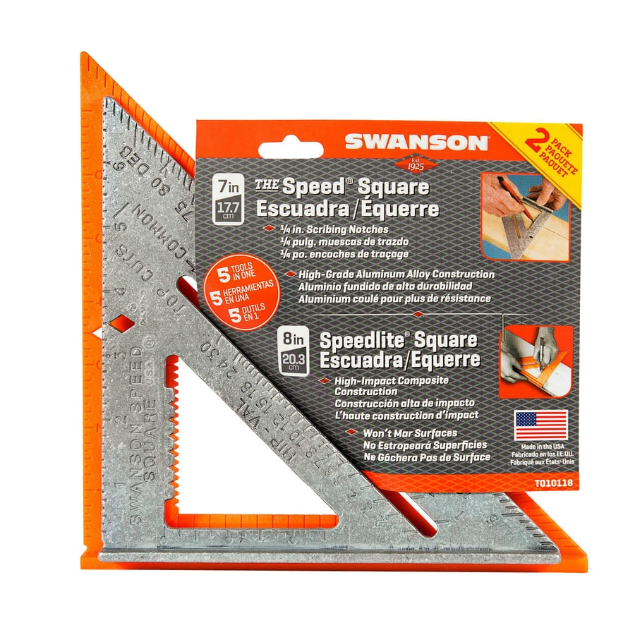 Swanson Tool Company 2-Pack Speed Square Layout Tools
