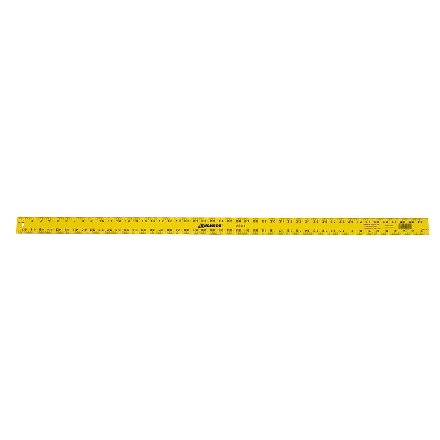 Swanson Tool Company 4-ft Inches Ruler