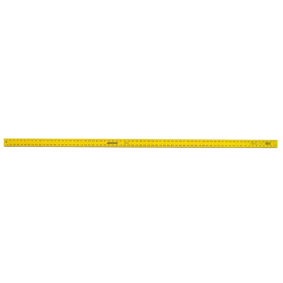 Swanson Tool Company Straight Edges 6-ft Metal Ruler