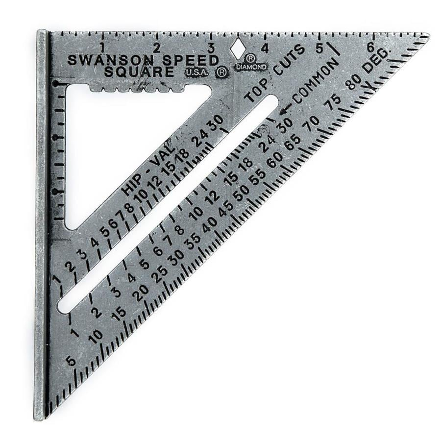 Swanson Tool Company Speed Square with Black Markings