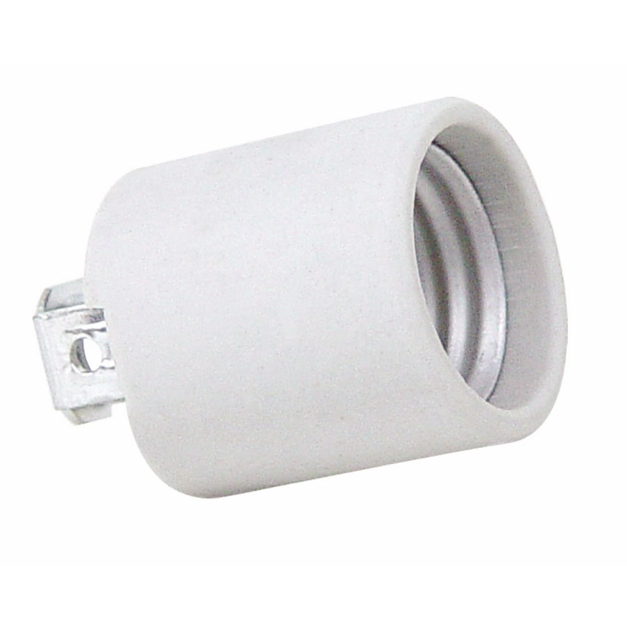Shop light sockets adapters at lowes servalite 60 watt grey lamp socket arubaitofo Image collections