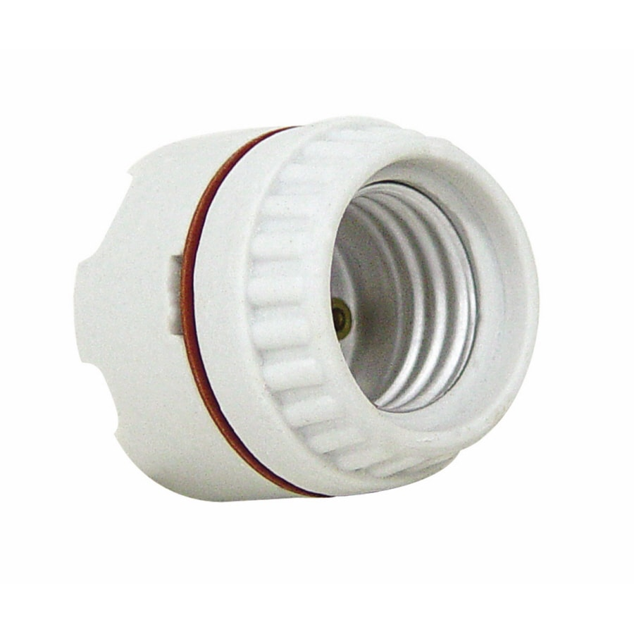 Light Sockets Adapters At Diy Electrical Wiring Bathroom Servalite 660 Watt Porcelain Hard Wired Socket