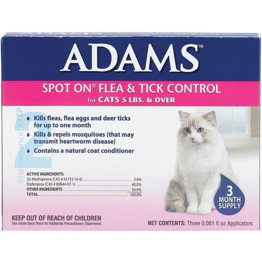 Central Life Sciences 3-Pack 1.44-oz Flea and Tick Topical Liquid for Cats